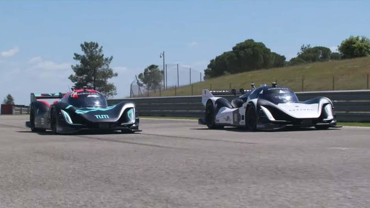 Состоялась первая в мире гонка полностью беспилотных автомобилей