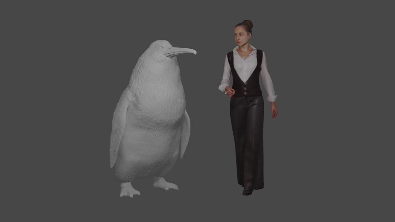 Доисторические монстры: в Новой Зеландии обнаружены останки нового вида пингвинов размером с человека