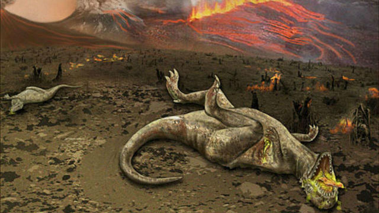 В Австралии обнаружили около сотни вулканов юрского периода