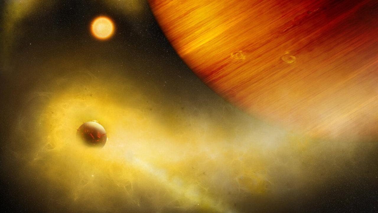 У экзопланеты найден спутник с извергающимися вулканами?