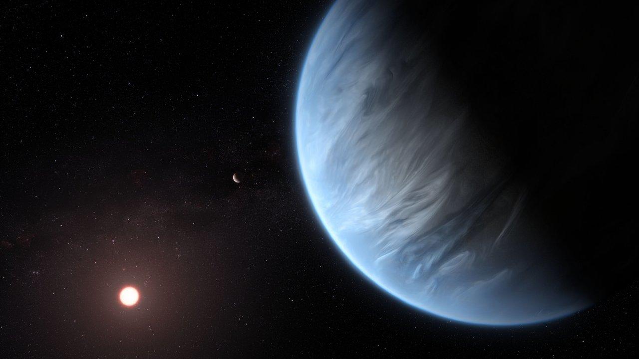 На потенциально обитаемой планете впервые обнаружили воду