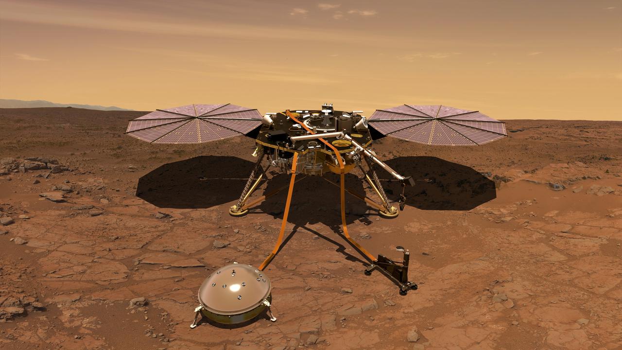 На Марсе обнаружены странные колебания магнитного поля