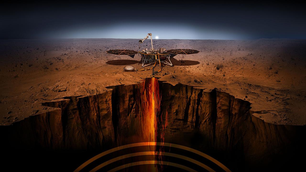 """НАСА приступает к спасению марсианского """"крота"""""""