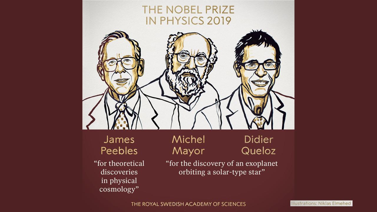 Нобелевскую премию по физике вручили за изучение прошлого Вселенной и открытие уникальной экзопланеты