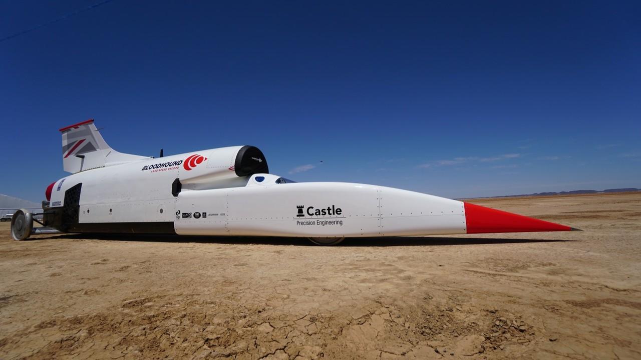 Реактивный автомобиль установил новый рекорд скорости