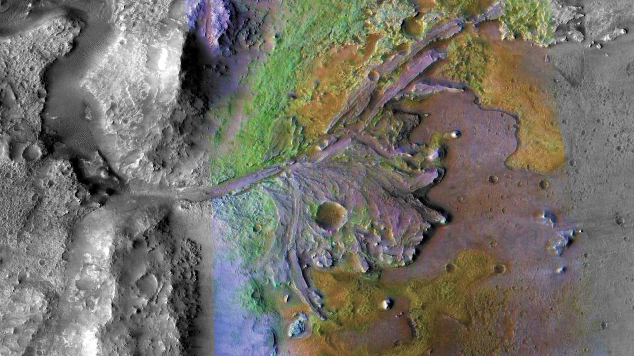 Место для посадки Mars 2020 назвали идеальным для поиска древних ископаемых
