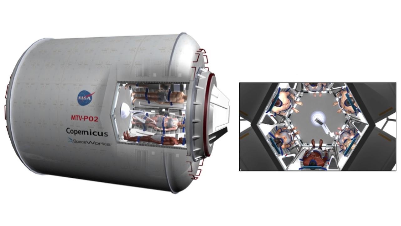 Гибернация защитит космонавтов от радиации и снизит затраты на длительные миссии