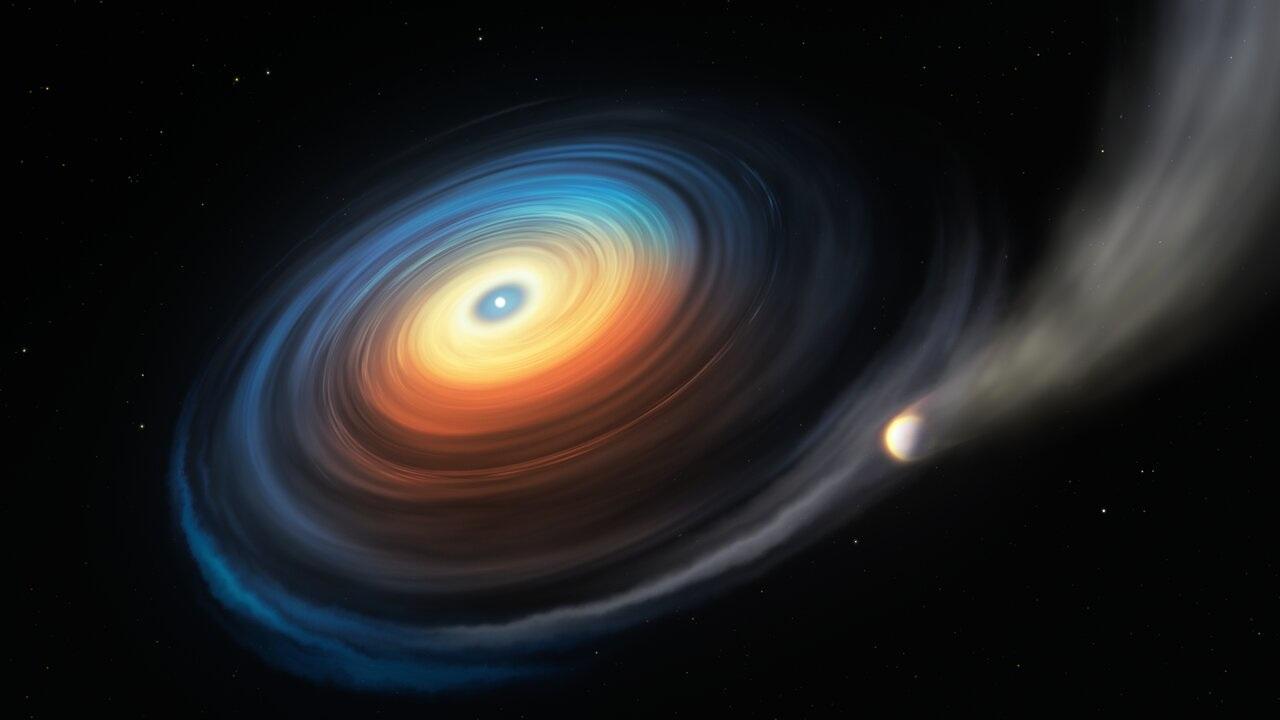 У белого карлика впервые найдена планета-гигант