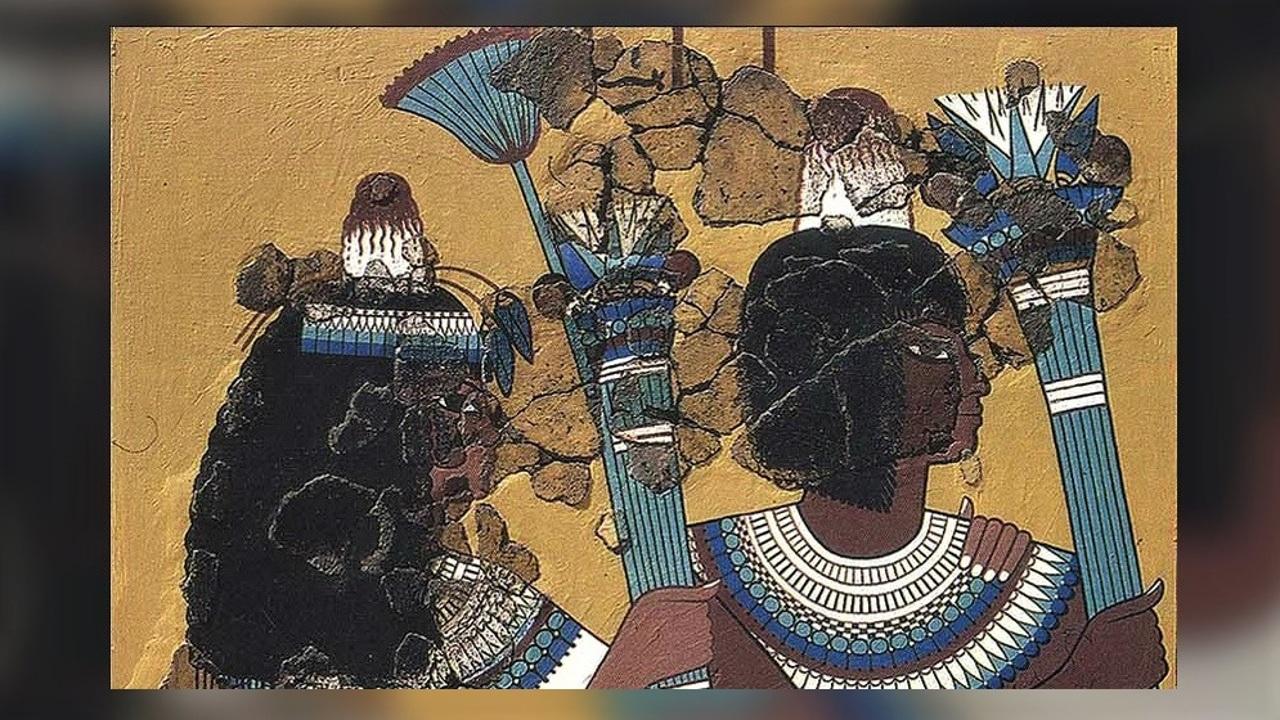 """Древние египтяне действительно носили на головах восковые """"колпаки"""". Но зачем?"""