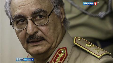 Новый союзник: командующий ливийской армией посетил авианосец