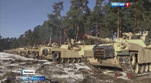 Американские танки в Польше: