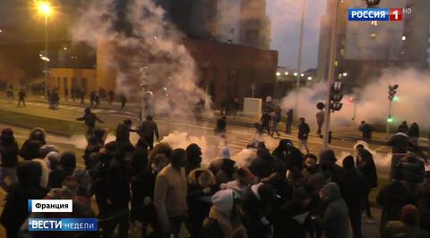 Французской полиции объявлена уличная война