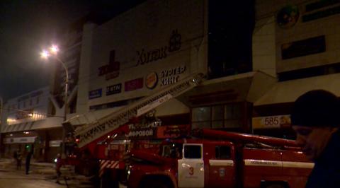 Очевидцы рассказали о страшном пожаре в торговом центре Кемерова