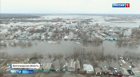 Паводок: города превращаются в острова