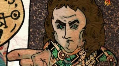 Нарисованные и100рии. Зарубежные герои. Оливер Кромвель - Наполеон Бонапарт
