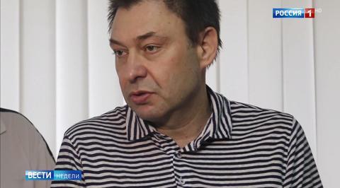 Кирилл Вышинский получил премию Союза журналистов России