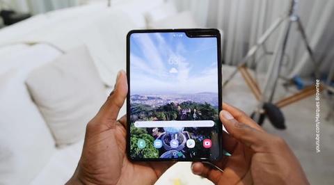 Вести.net: Samsung Galaxy Fold с гибким экраном не выдержал тестирования