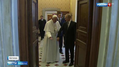 В Италии вместо Путина появился святой Владимир