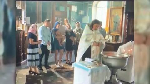 В Гатчине крещение ребенка завершилось заявлением в полицию