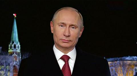 Новогоднее обращение президента Российской Федерации В.В. Путина. Эфир от 31.12.2018