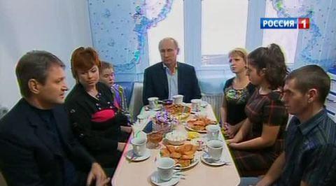 Путин проверил, как восстанавливают Крымск