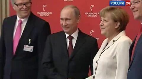 Путин обсудит с Меркель Сирию и Кипр