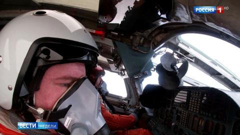 Российские бомбардировщики установили мировой рекорд по дальности полета