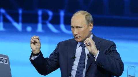 Прямая линия с Владимиром Путиным. 2013. Часть 4