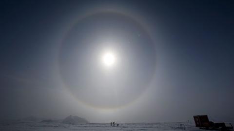 Озоновая дыра превысила размер Антарктиды