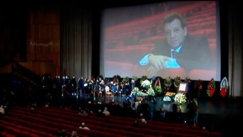 В Доме кино завершилась церемония прощания с Грачевским