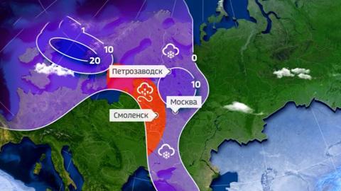 Погода 24. На смену аномальным морозам придут аномальные оттепели