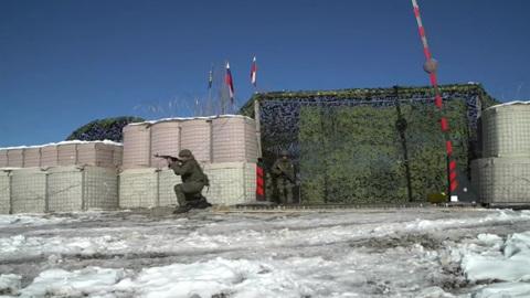 """Новости на """"России 24"""". Миротворцы провели антитеррористическую тренировку в Карабахе"""