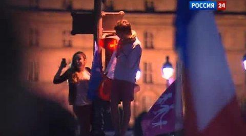 Франция ударила