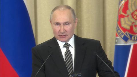 Путин: агрессия Запада в отношении России бесперспективна