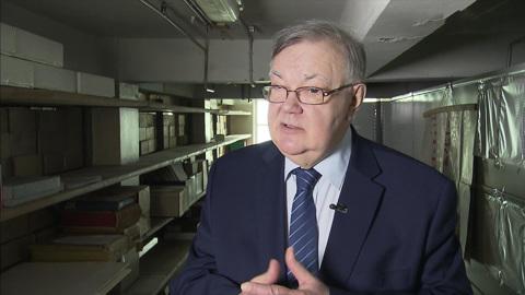 Историк Сергей Мироненко празднует юбилей