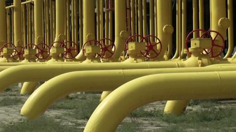Транзит российского газа через Украину сократился в январе-апреле на 10%