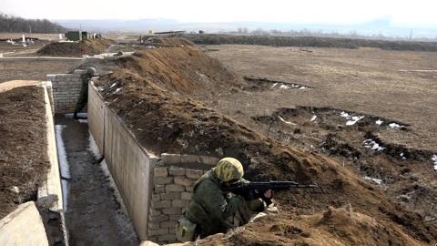 Донбасс спокоен, несмотря на действия Украины