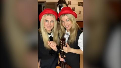 Финалистки пятого баттла челленджа – сестры Висоцкие
