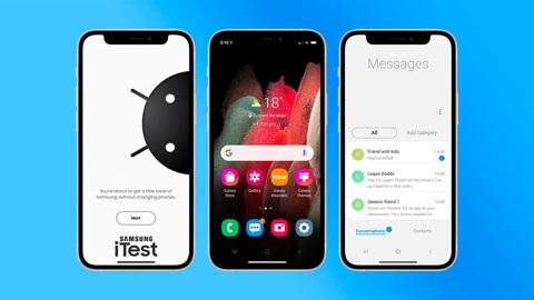 Samsung предложил владельцам iPhone превратить их смартфон в Galaxy