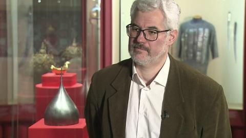 Сергей Орленко— овыставке, посвященной истории последних Рюриковичей