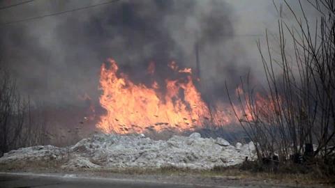 Тюмень окутал смог от природных пожаров