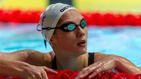 Пловчиха Чимрова пробилась в полуфинал олимпийского турнира