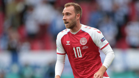 Полузащитник сборной Дании Эриксен сообщил об улучшении состояния