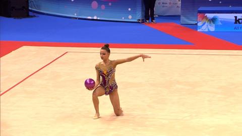 Чемпионат Европы по художественной гимнастике: 9 из 12 медалей высшей пробы – у России