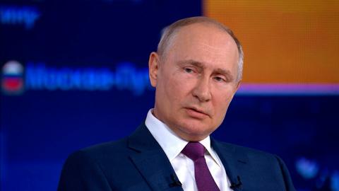 Путин поделился своим беспокойством