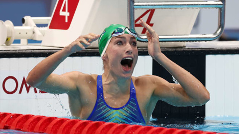На Олимпиаде-2020 обновлен мировой рекорд по плаванию