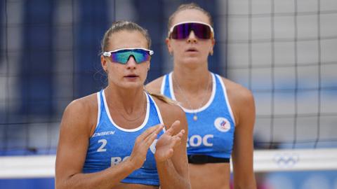 Пляжницы Макрогузова и Холомина завершили выступление на Олимпиаде