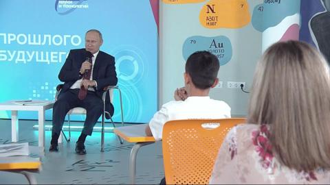 Путин рассказал об отце