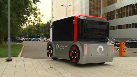 Автобус-беспилотник: транспорт без водителя становится реальностью