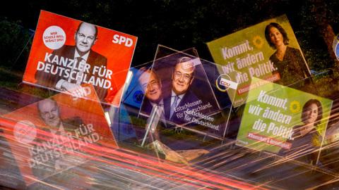 """Немецкие социалисты и """"зеленые"""" сделали заявку на коалицию"""